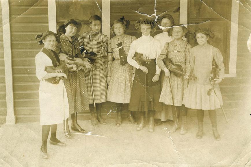 Augusta F O'Malley Violin Sextette c. 1910
