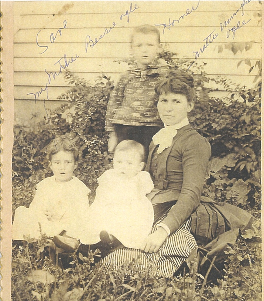 Mattie Nichols and kids